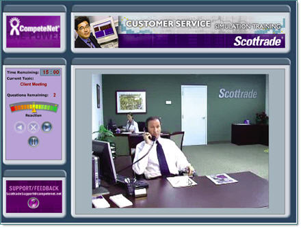 Scottrade Simulation Program