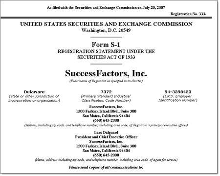 SuccessFactorsS-1